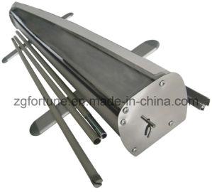 Aluminum normal Roll acima de Banner Stand (FB-LV-1)