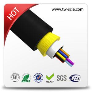 24 de base longue = 300meter diélectrique du câble optique (ADSS)