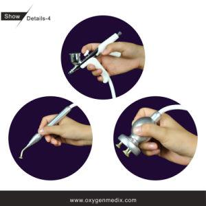 Oxyspa (ii) + matériel CD de beauté d'écaillement de diamant de gicleur de l'oxygène