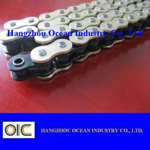 520 joint circulaire Motorcycle Chain avec du Cu Plated