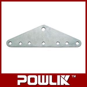 Placas elevadas do garfo de Qualit, encaixe do metal