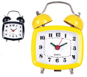 Horloge d'alarme en plastique de Bell (KV3104)