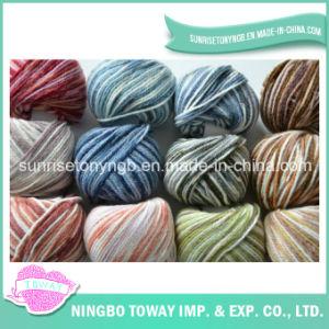 Crochet colorido Atacado máquina de confecção de malhas acrílico fios de lã (TW-T02)