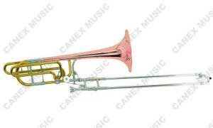 Instrumentstrombone en laiton/Trombone bas/Trombone de glissière de accord bas (TB30D-L)