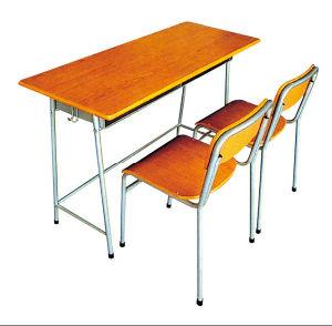 Mobilier scolaire bureau d 39 tudiant et chaise sf 63 for Mobilier de bureau pour etudiant