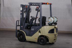 Vorkheftruck van de Benzine van de Capaciteit 1500kg van de V.N. 1.5t en de Dubbele van de Brandstof van LPG met de Originele Japanse Ingevoerde Motor van Nissan K21