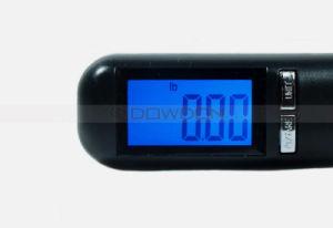 Schwarze 40kg Digital Gepäck-Schuppen-wiegende Schuppe mit kundenspezifischem Firmenzeichen (Scale-01)