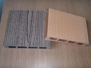 Recicl o Decking plástico de madeira/Decking recicl de WPC (HO03145)