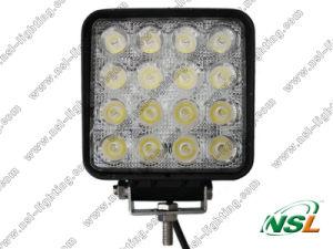 48W carré LED outre de la route conduisant la lampe
