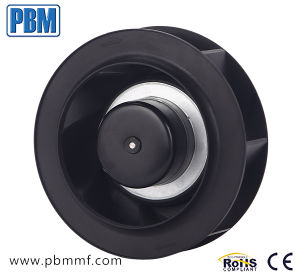 190mm Ec ventilateur centrifuge - Entrée DC