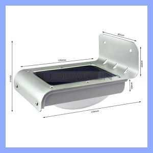 Solar-LED-Leuchte/stichhaltige Flut-im Freienwand-Leuchte des Sensor-LED des Garten-Light/16 LED (Light-01)