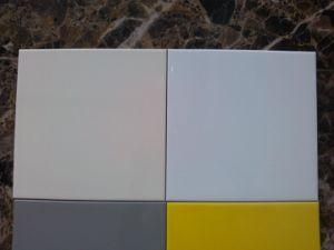 Tuiles pures de porcelaine de Matt de couleur de Brown (BH60E)