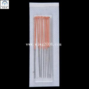 Aiguilles d'acupuncture avec poignée en cuivre (AN010-1) (avec un tube vide)