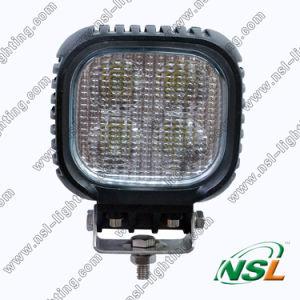 lumière de travail de 12V 24V 40W LED, lumière d'entraînement de LED, bateau 4WD