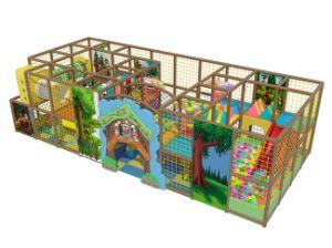 Le ce badine le château populaire dans la cour de jeu d'intérieur des Etats-Unis (ST1401-7)