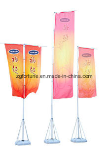 Bandeira ao ar livre de pólo de bandeira da base da água de 5m (FX-QG-3)