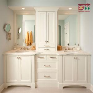 Cabinet de salle de bains moderne en bois plein de mod le for Cabinet pour salle de bain