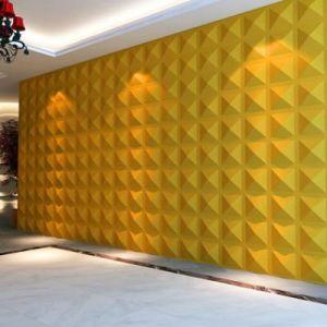 Los paneles decorativos del azulejo de la pared del efecto for Paneles decorativos de pvc