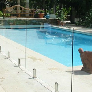 4 19mm effacer verre tremp cl ture de la piscine 4 19mm for Cloture piscine verre
