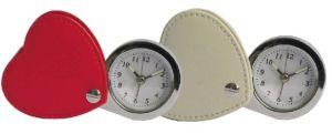 Horloge d'alarme en cuir de voyage (KV720)