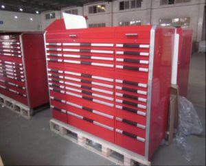 Armário de ferramentas resistente com as 33 gavetas de alumínio do punho