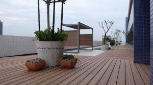 Ponte da alta qualidade/revestimento composto impermeável Decking WPC da piscina