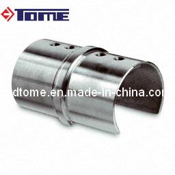 Conectador ranurado redondo del tubo del acero inoxidable - Tubo redondo acero ...