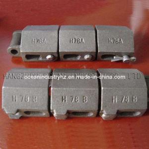 Chaîne H78A H78b de fer de fonte
