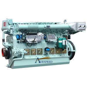 Двигатель рыбацкой лодки малого размера серии 220kw-600kw Avespeed 170 морской тепловозный