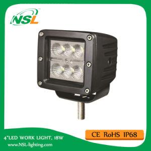 3 pouces 6 LED Cube Work Light 18W pour Offroad ATV 4X4 LED Automotive