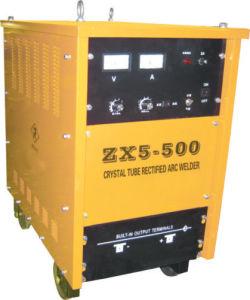 soldador Tiristor-controlado do arco da C.C. 500AMP (ZX5-500)