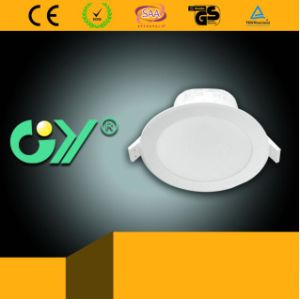 lampe légère Integrated de 3000k 5W DEL vers le bas Ceilinng (CE RoHS)