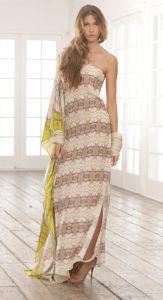 Vestuário de seda de Charmuse do cetim