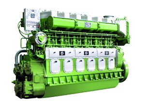 Двигатели Цилиндра 735кВт-1618кВт 600rmp Avespeed Gn6320 6 Тепловозные Морские