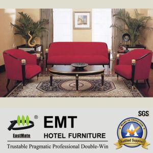 Nouveau sofa d'hôtel de conception réglé (EMT-SF06)