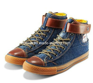 Vendas por atacado Cowboy Canvas Shoes para Man (WM2013CH011)