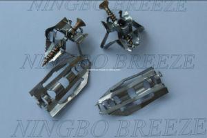 Fixation de placoplâtre d'acier inoxydable de brise