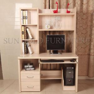 Bureau moderne d 39 ordinateur de tableau d 39 l ve de meubles for Meuble bureau avec etagere