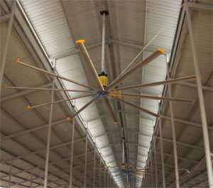 24 ventiladores de techo industriales del pie 24