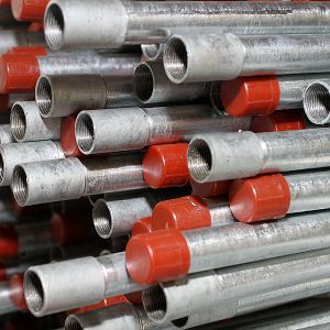 Export를 위한 최신 DIP Galvanized Steel Pipe