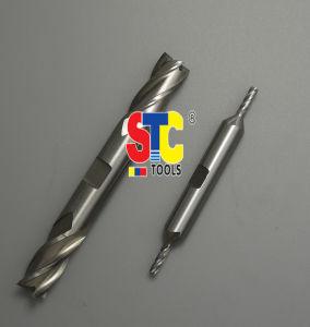 Molinos de extremo terminados dobles de la flauta del HSS 4