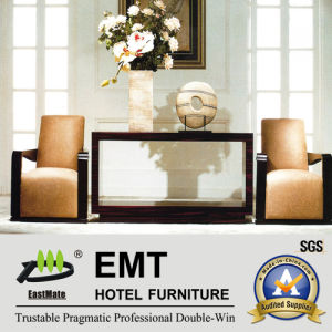 Design gentil Hotel Furniture Console Table avec Chair (EMT-CA17)