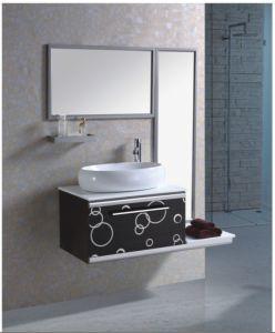 ステンレス鋼の虚栄心の浴室用キャビネット(YX-8091)