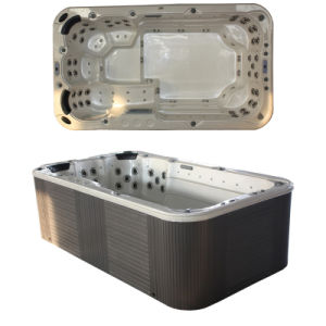 Mini Swim SPA Tub, SALT Water Swim SPA met Balboa System (SR821)