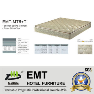 Lit Mattress pour la chambre à coucher de Star Hotel (EMT-MT5+T)