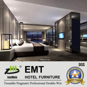 Meubles modernes de chambre à coucher de meubles d'hôtel de modèle réglés (EMT-A1102)