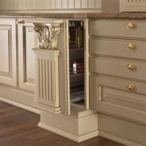 meuble de cuisine haut de gamme en bois massif, armoire de cuisine ... - Meuble Cuisine Haut De Gamme