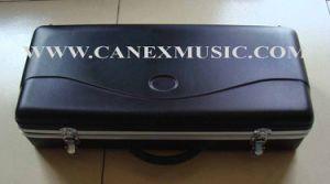 La caisse de saxophone/caisse d'ABS/enferment dur des CABINES
