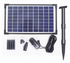 Fountainのための10W Solar Brushless Pump Kit