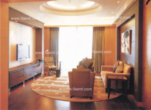 Suite présidentielle d'hôtel de meubles modernes de chambre à coucher (EMT-C1201)